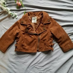 *Bundles 3/15$* Oshkosh Brown Suede Jacket